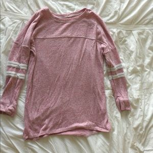 Other - Pink Jersey Sweater